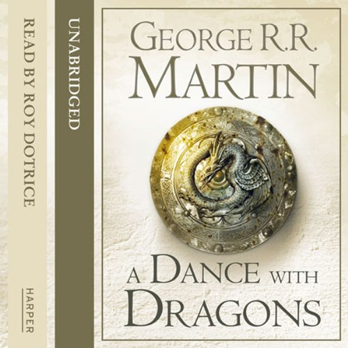 A dance with dragons / Танец с драконами (George R. R ... A Dance With Dragons Audiobook Cover