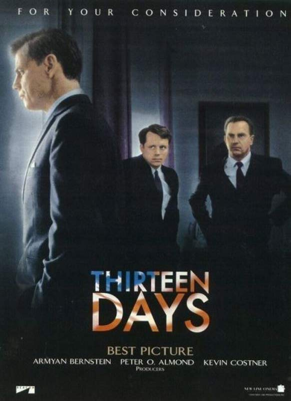 thirteen days essay Thirteen days: a memoir of the cuban missile crisis [robert f kennedy, arthur meier schlesinger] on amazoncom free shipping on qualifying offers a minor classic in its laconic, spare, compelling evocation by a participant of the shifting moods and maneuvers of the most dangerous moment in human history.