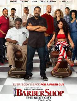 Парикмахерская 3 / Barbershop: The Next Cut (2016) HD 720 (RU, ENG)