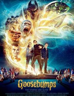 Ужастики / Goosebumps (2015) HD 720 (RU, ENG)
