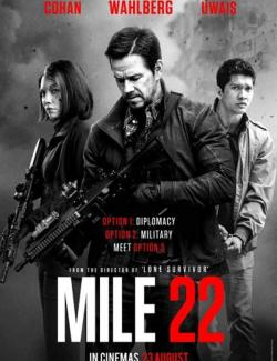 22 мили / Mile 22 (2018) HD 720 (RU, ENG)