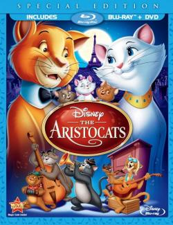 Коты-аристократы / The AristoCats (1970) HD 720 (RU, ENG)