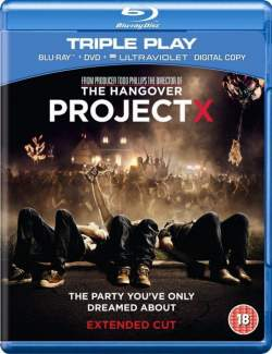 Проект X: Дорвались / Project X (2012) HD 720 (RU, ENG)