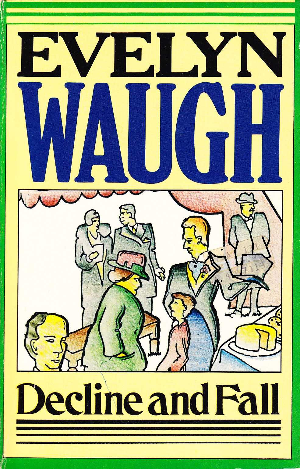 evelyn waughs decline and fall Complete summary of evelyn waugh's decline and fall enotes plot summaries cover all the significant action of decline and fall he confides to paul that he is a crook who took the post in order to kidnap little lord tangent, but that he reformed after falling in love with diana.